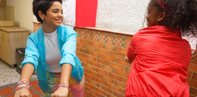 Sentir Teleantioquia - Yury y Sandra bailando