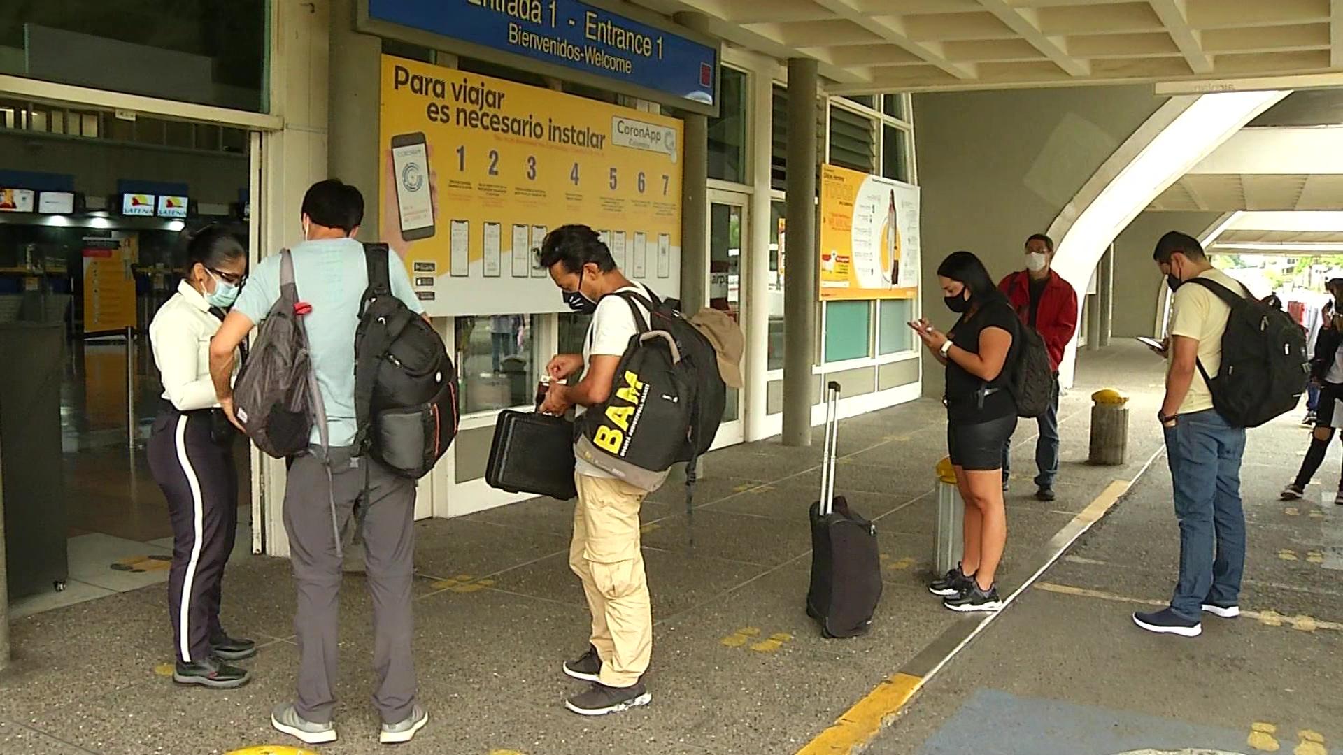 Aeropuertos movilizarán 152 mil personas