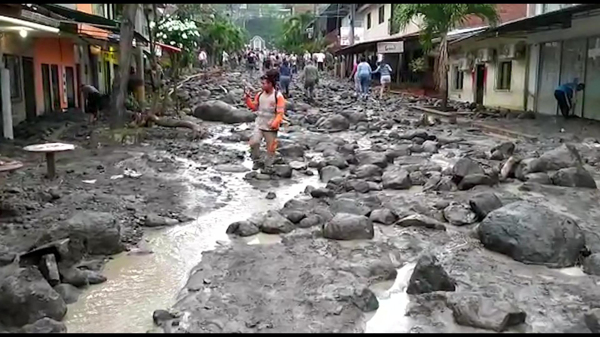 Avenida torrencial afecta 185 viviendas en Dabeiba