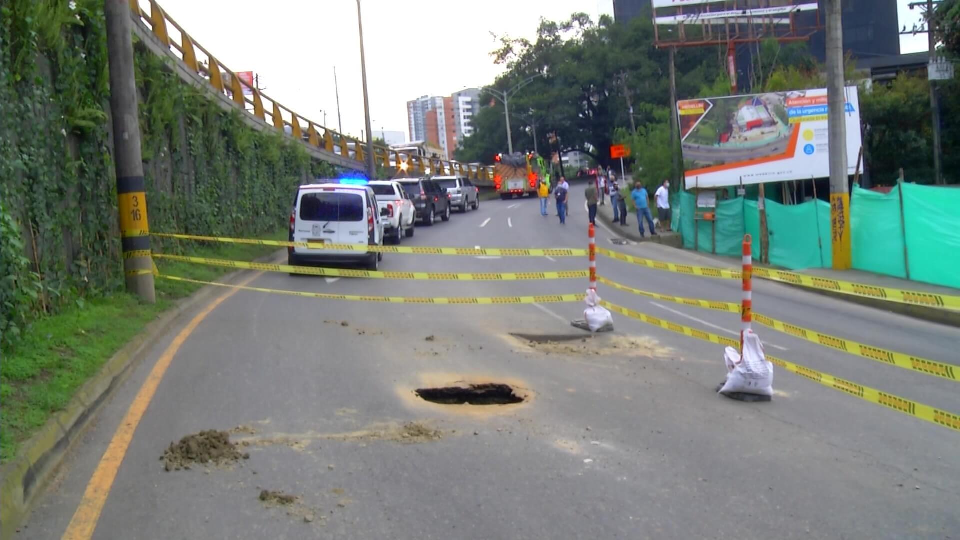 Cierran carril de ascenso de la vía a Las Palmas