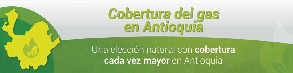 Hoy en Antioquia existen un millón trescientos veinticuatro mil usuarios del gas natural