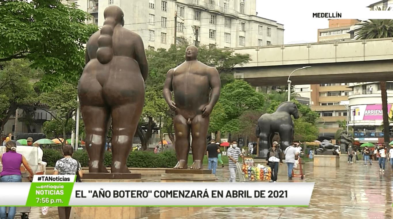 El «Año Botero» comenzará en abril de 2021