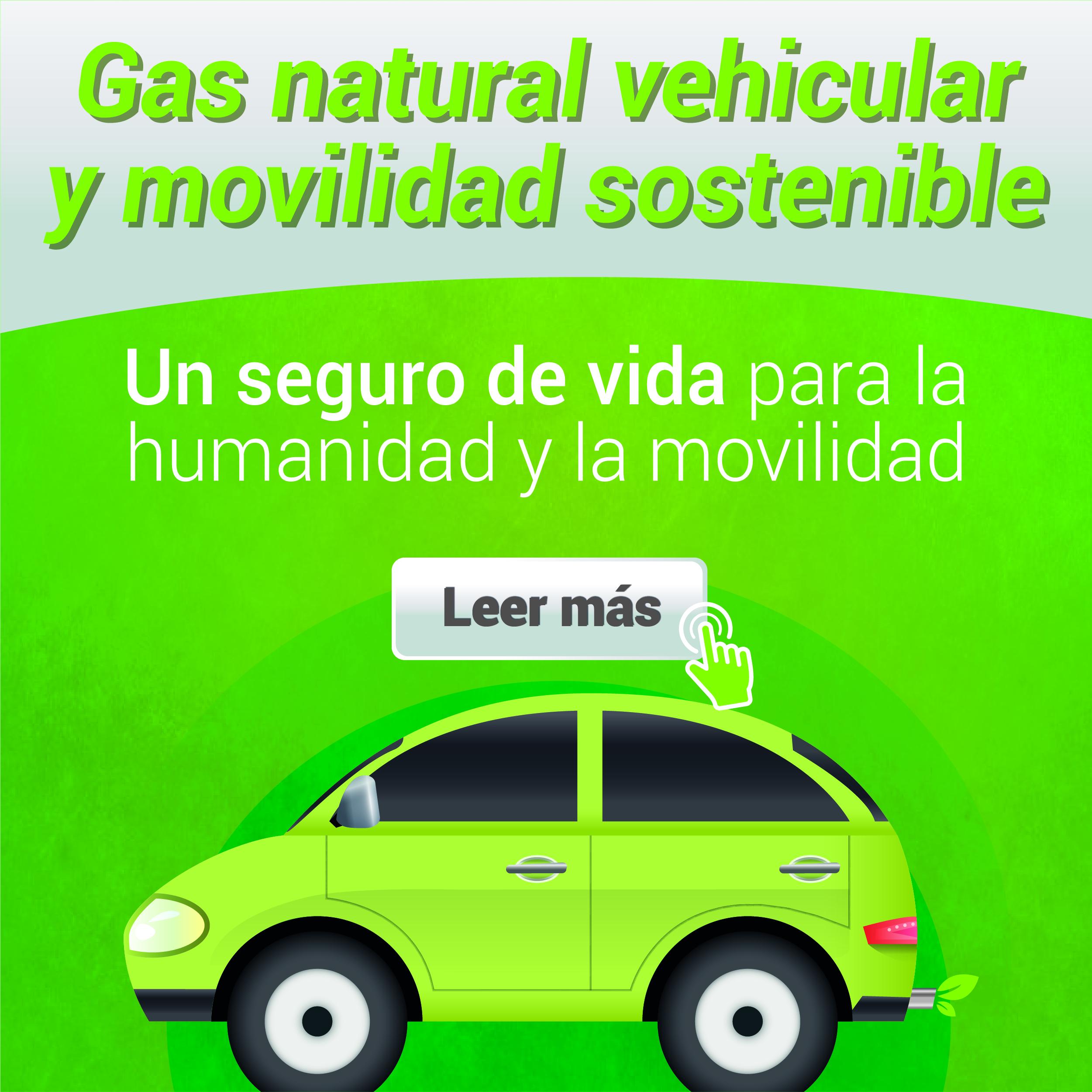 Gas natural vehicular y movilidad sostenible