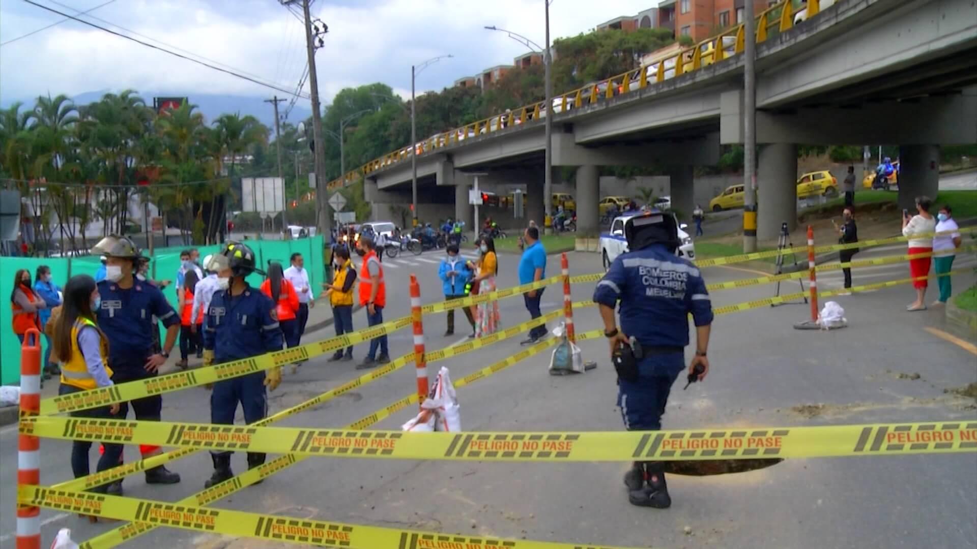 Intensifican trabajos 247 para rehabilitar la vía a Las Palmas