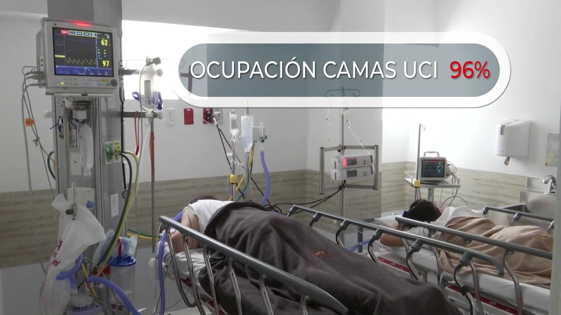 180 pacientes están esperando traslado a cama UCI