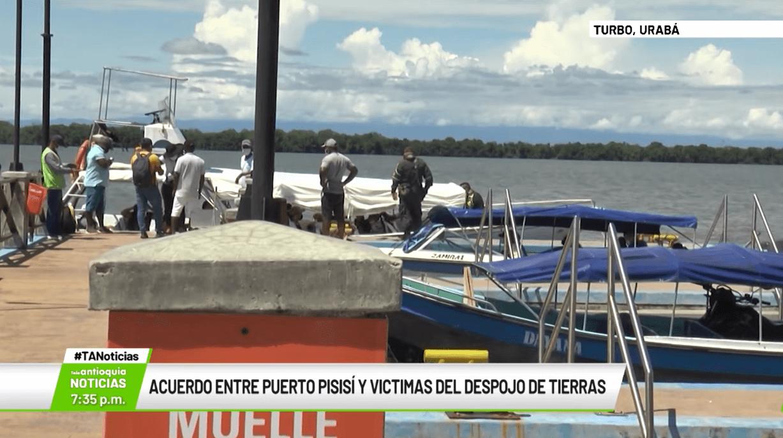 Acuerdo entre Puerto Pisisí y víctimas del despojo de tierras