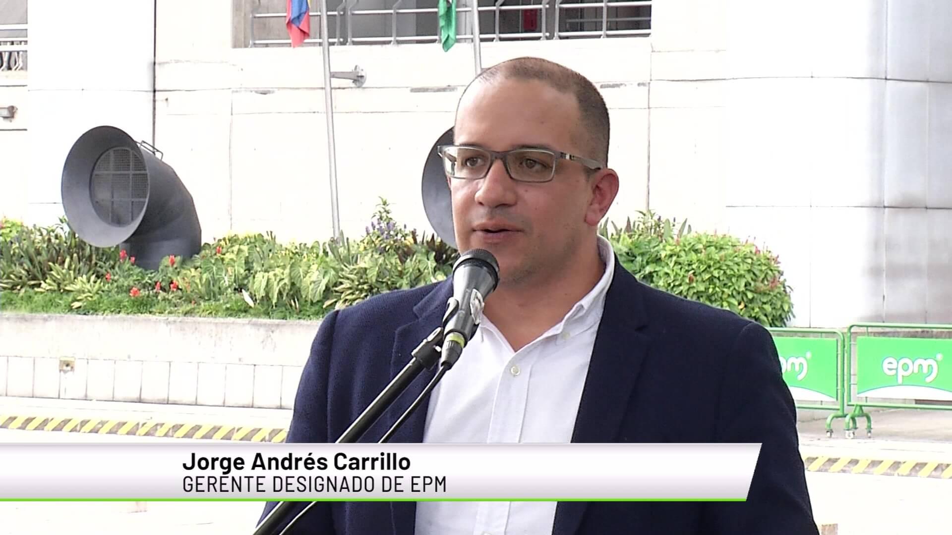 Andrés carrillo nuevo gerente de EPM