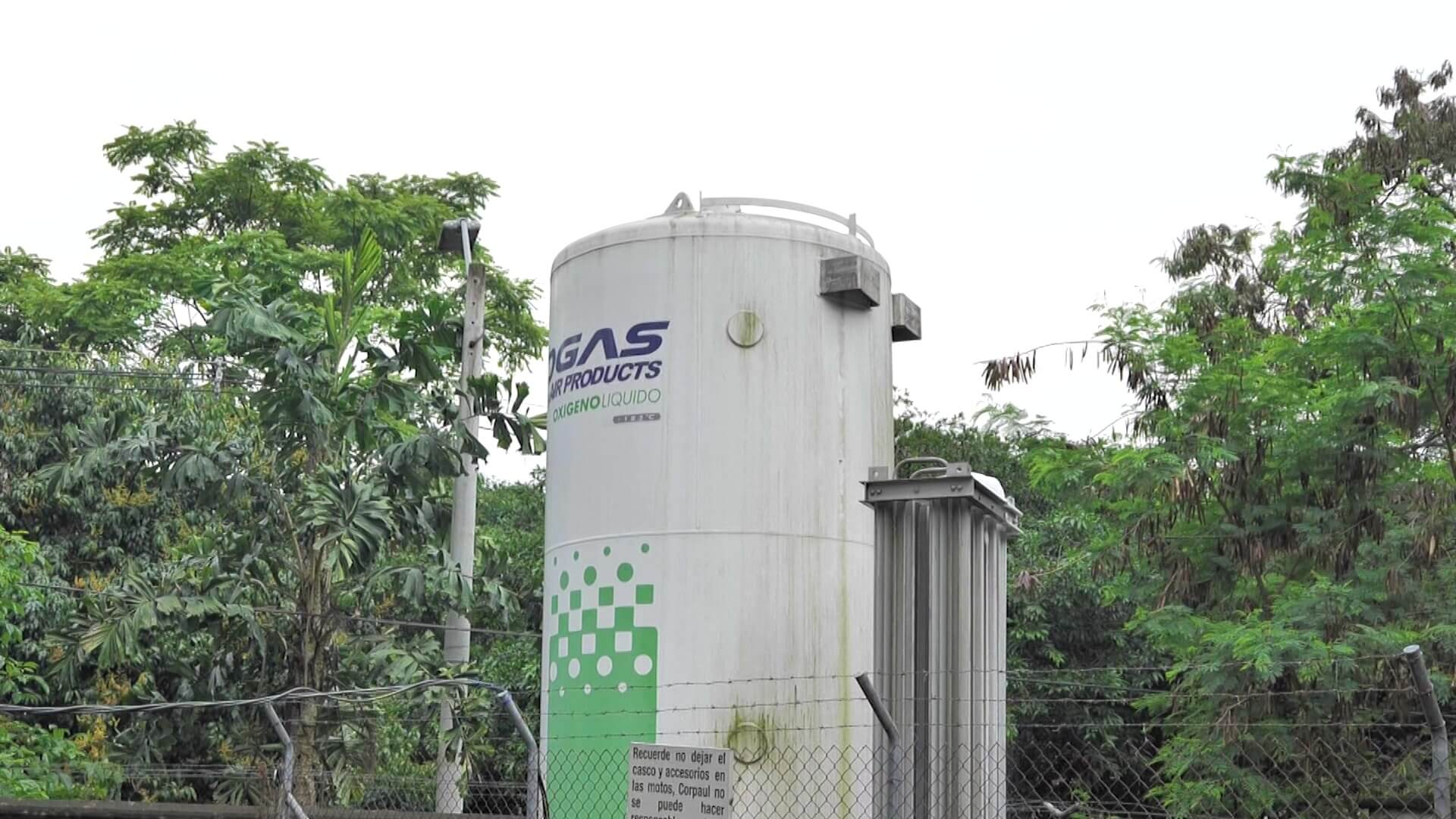 Anuncian compra de planta para producción de oxígeno