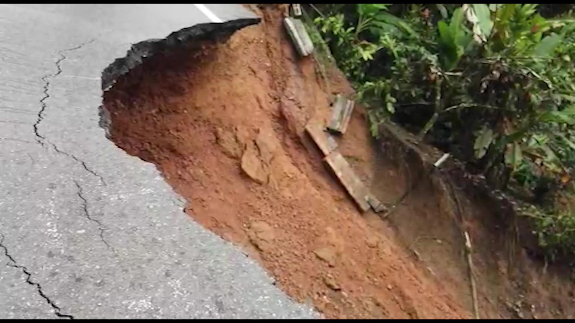 Cierre total en vía Medellín-Bogotá por socavación