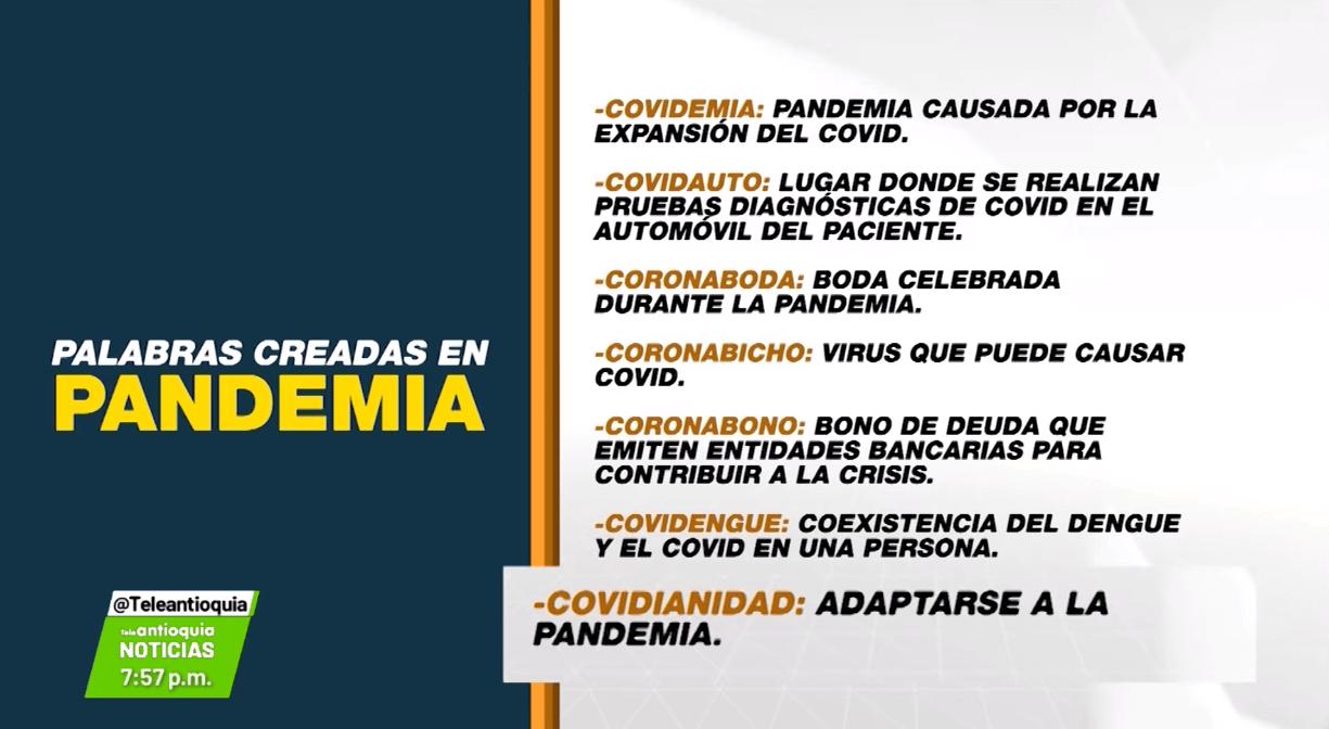 Covidiota y otras palabras creadas durante la pandemia