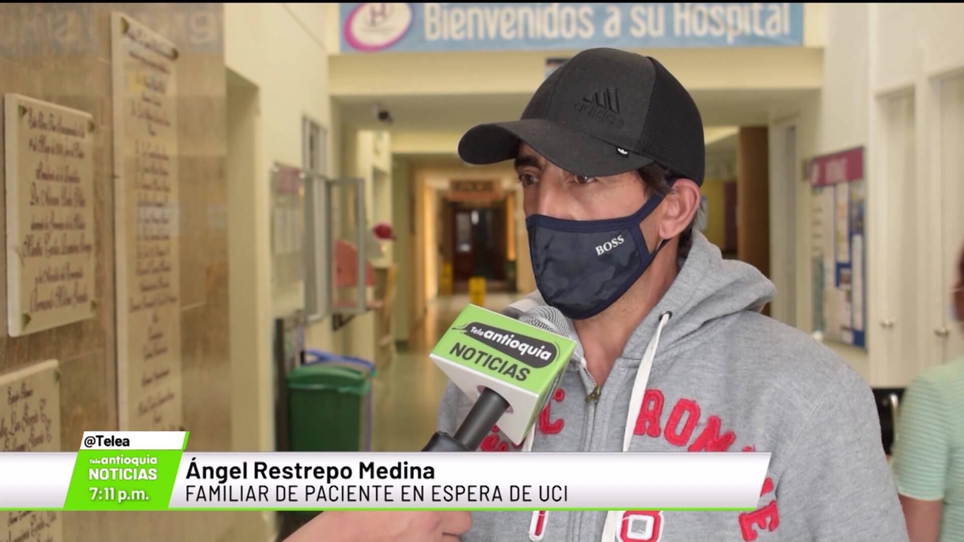 El drama de las familias con pacientes a la espera de UCI