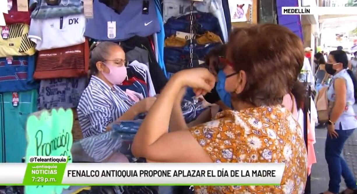 Fenalco Antioquia propone aplazar el Día de la Madre