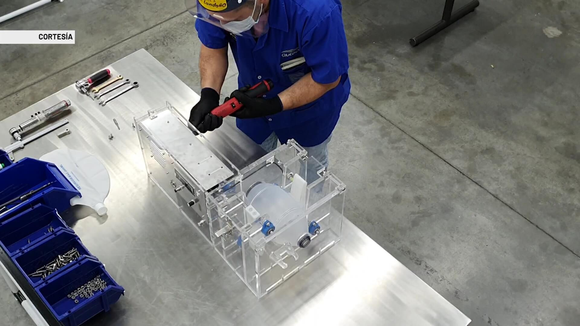 Finaliza fase I de ventiladores creados en Medellín