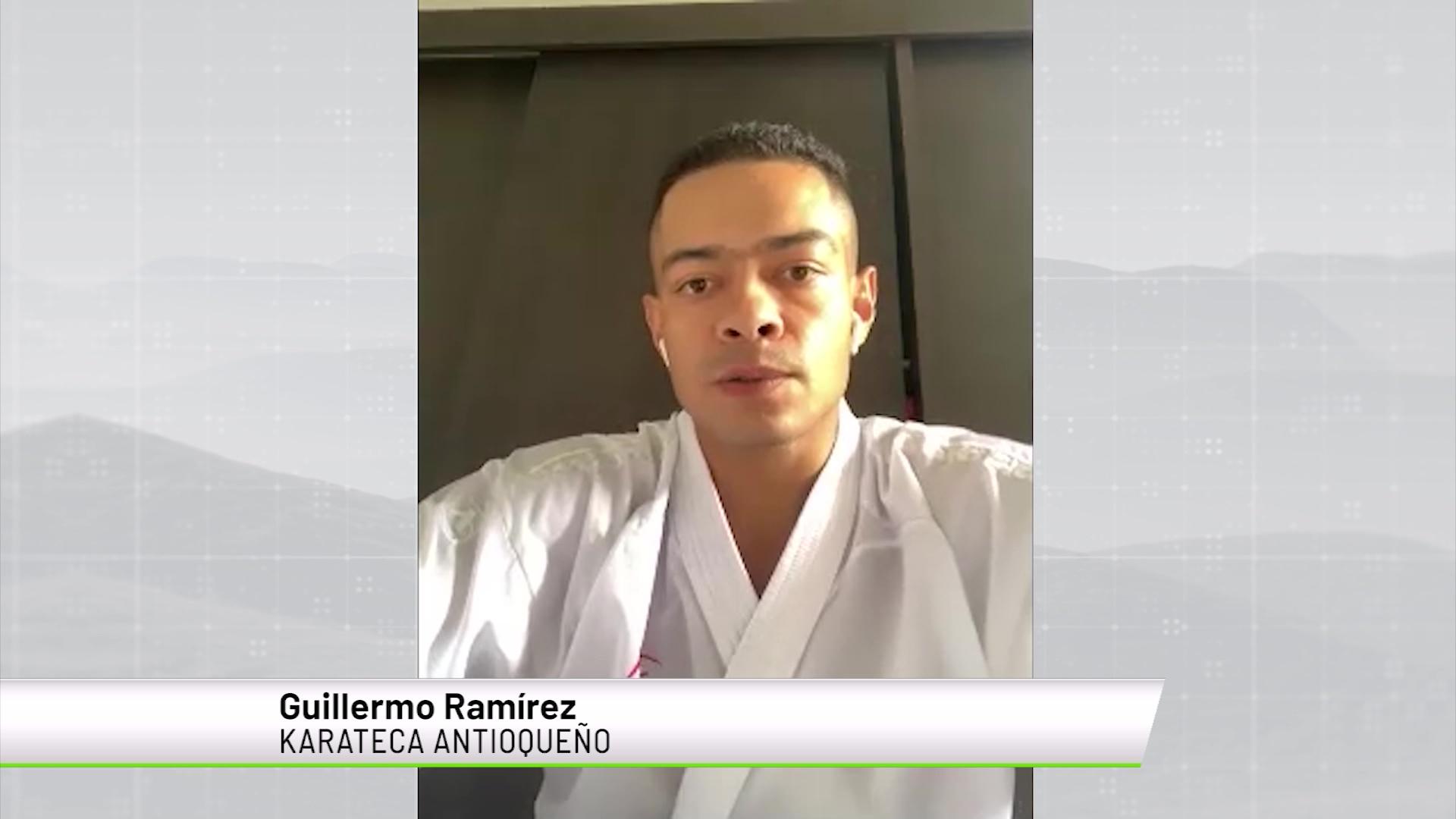 Guillermo Ramírez regresa a competencia