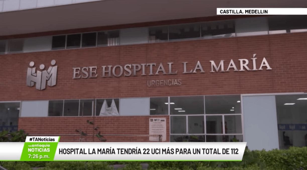Hospital La María tendría 22 UCI más para un total de 112