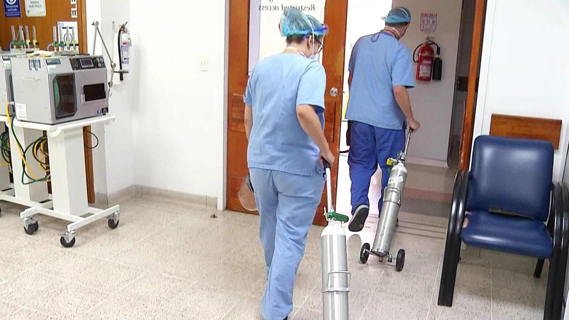 Preocupación ante alta demanda de oxígeno hospitalario