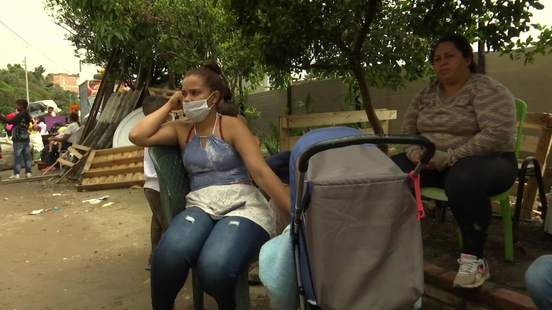 Reportan 60 familias en alto riesgo tras lluvias en Itagüí