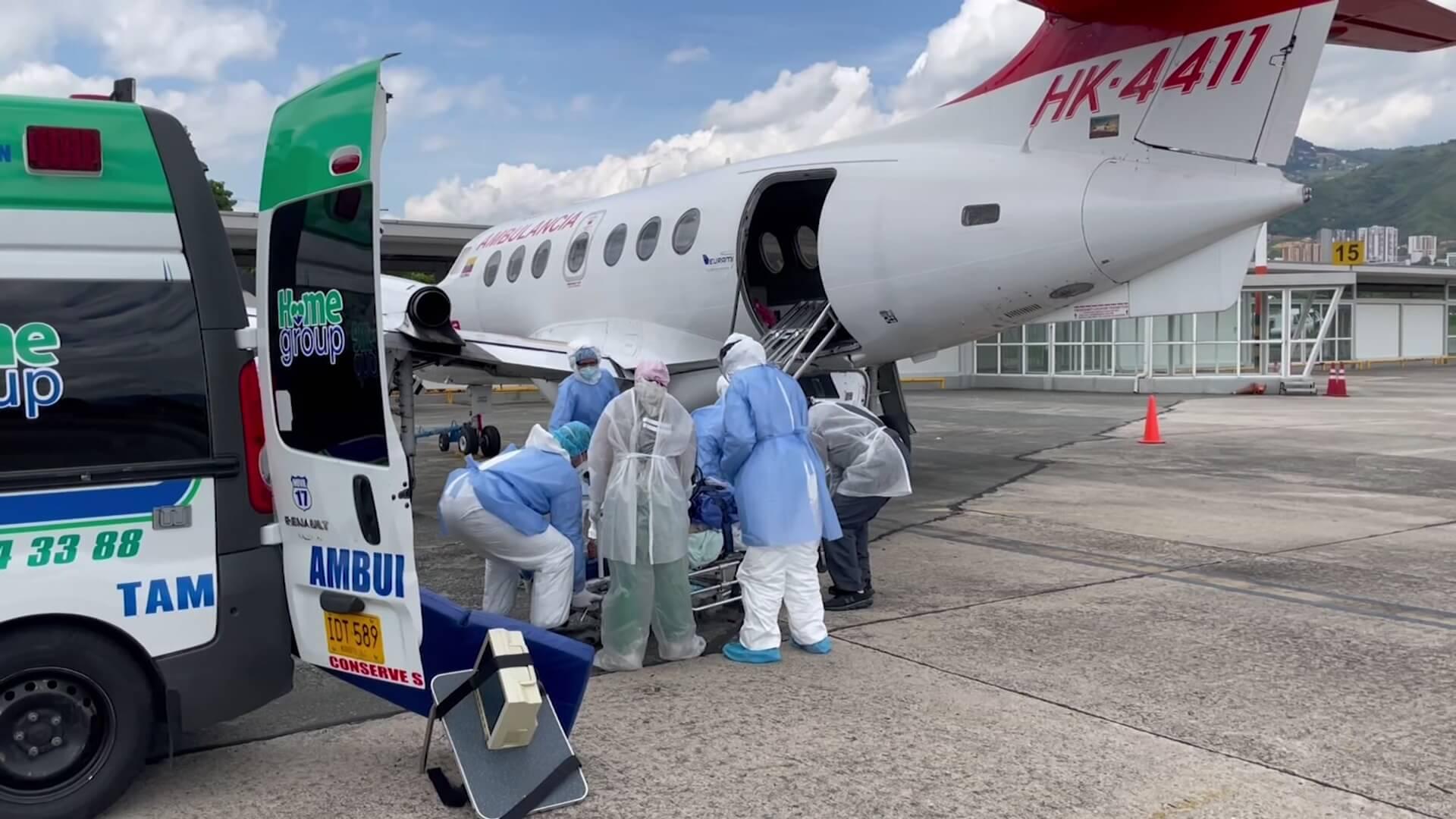 Servicios de ambulancias aéreas aumentaron en un 400 %