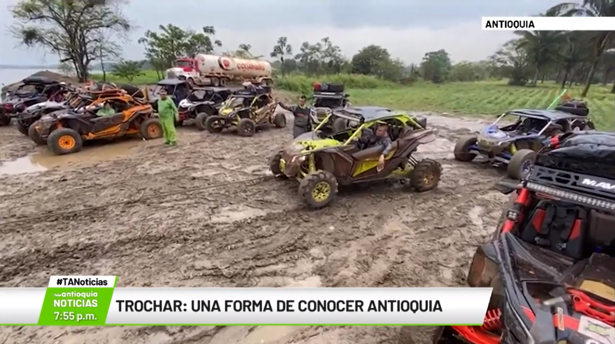 Trochar: una forma de conocer Antioquia