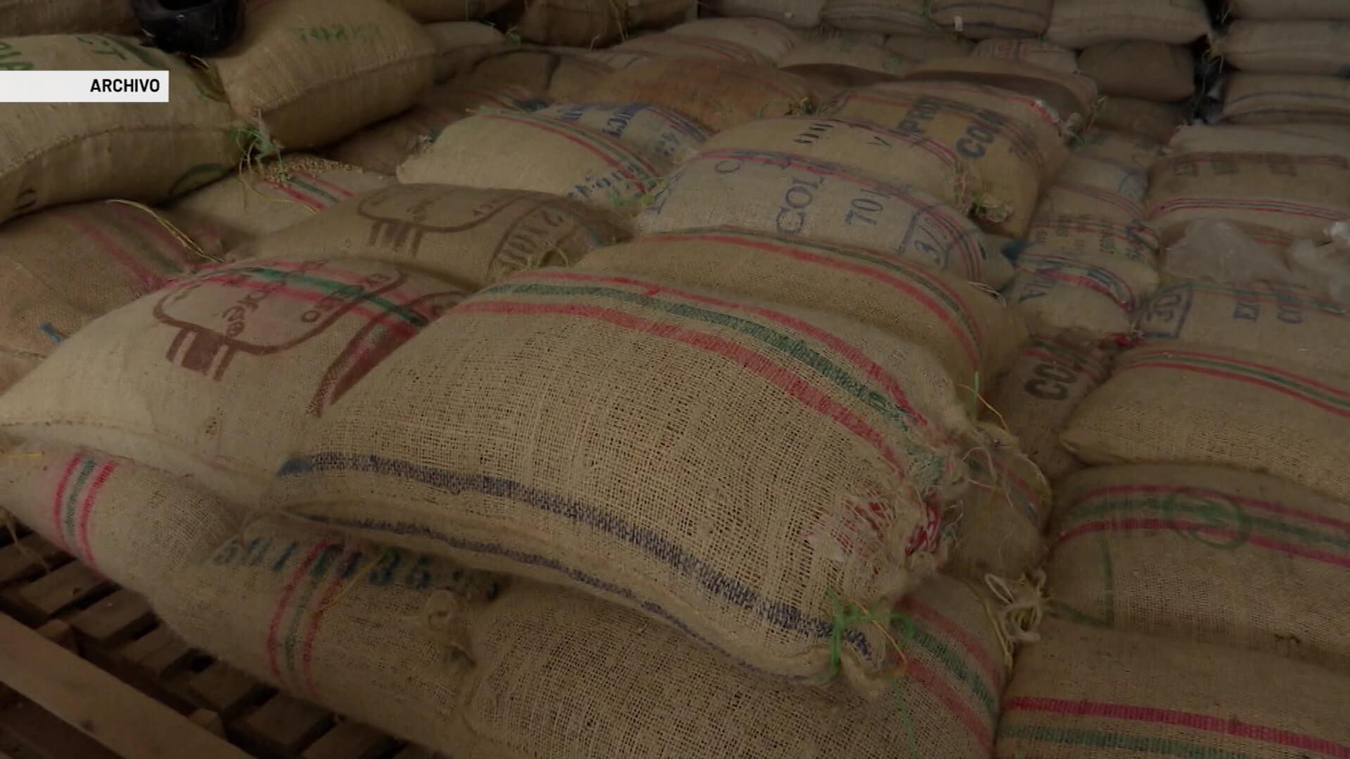 20 mil sacos de café represados en Antioquia