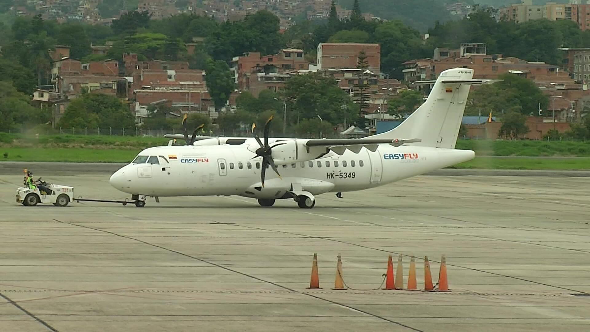 Aeropuerto de Medellín ha recuperado actividad