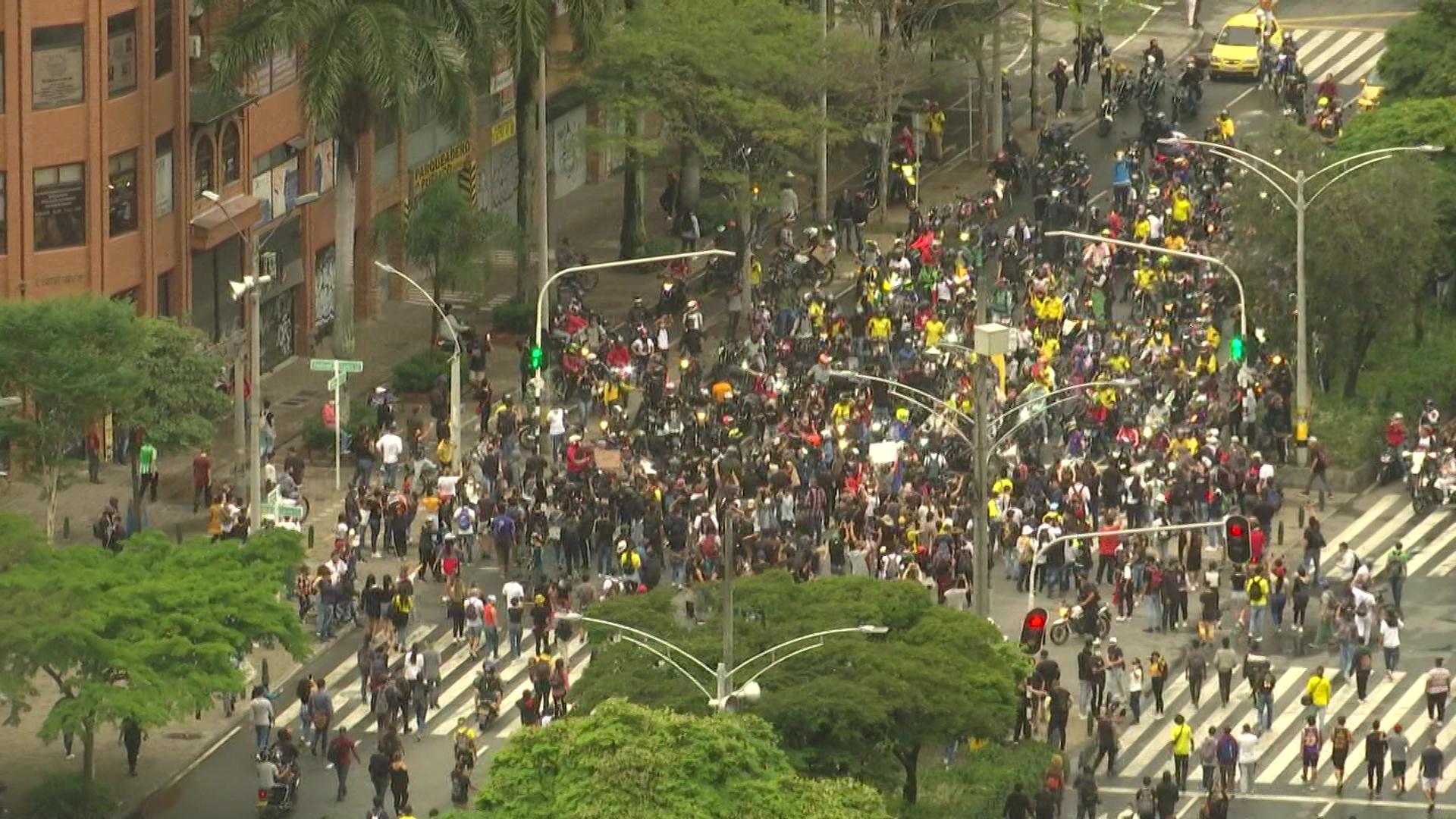 Así transcurrieron las protestas