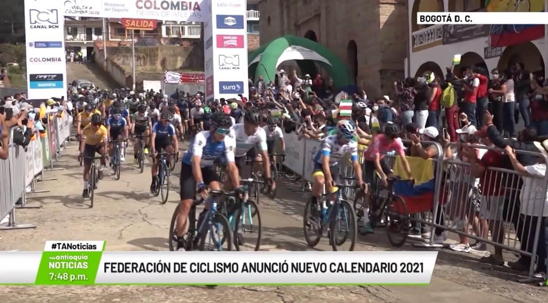 Federación de Ciclismo anunció nuevo calendario 2021