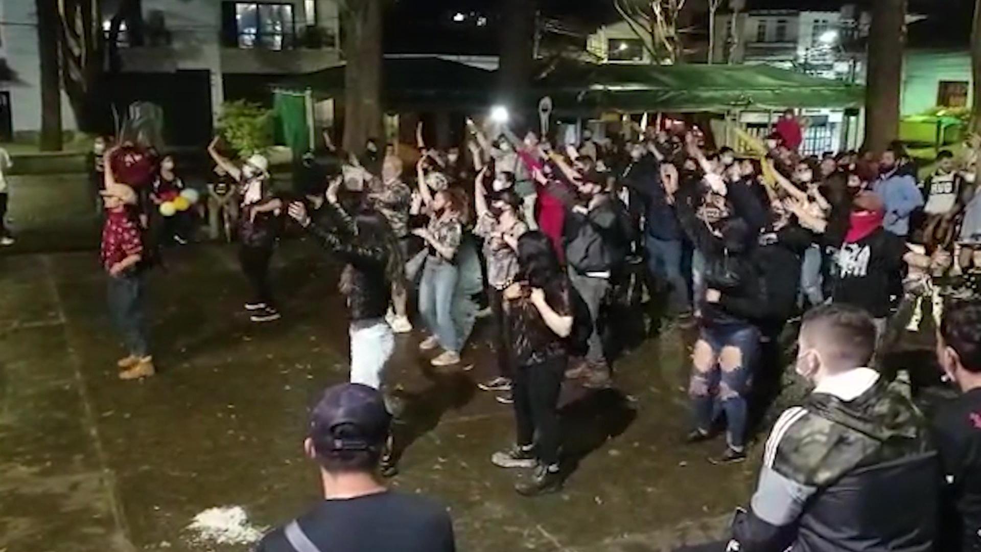 Jornadas de protesta en municipios de Antioquia