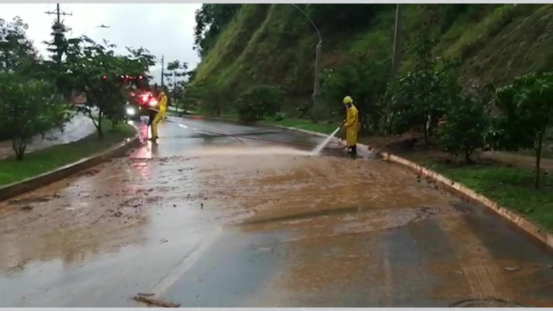 Lluvias causaron estragos en Antioquia