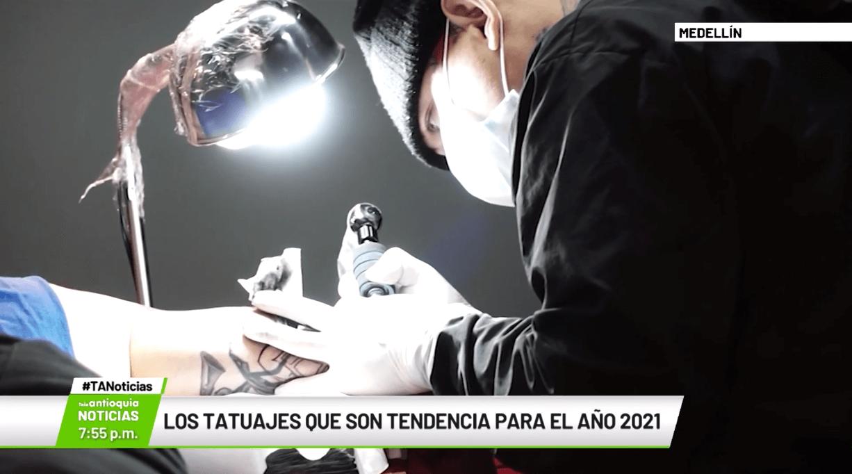 Los tatuajes que son tendencia para el año 2021