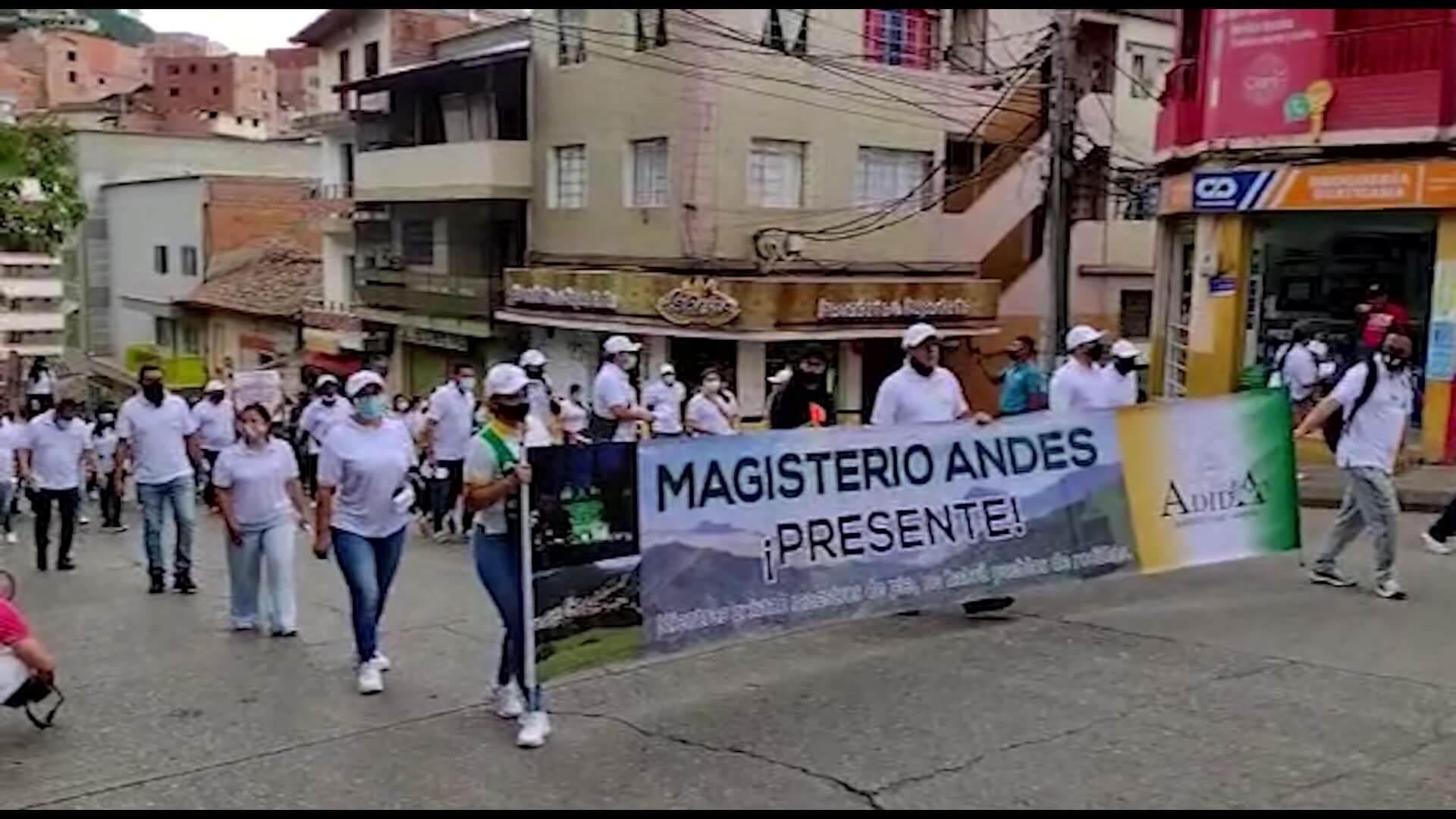 Manifestaciones y protestas hoy en diferentes municipios