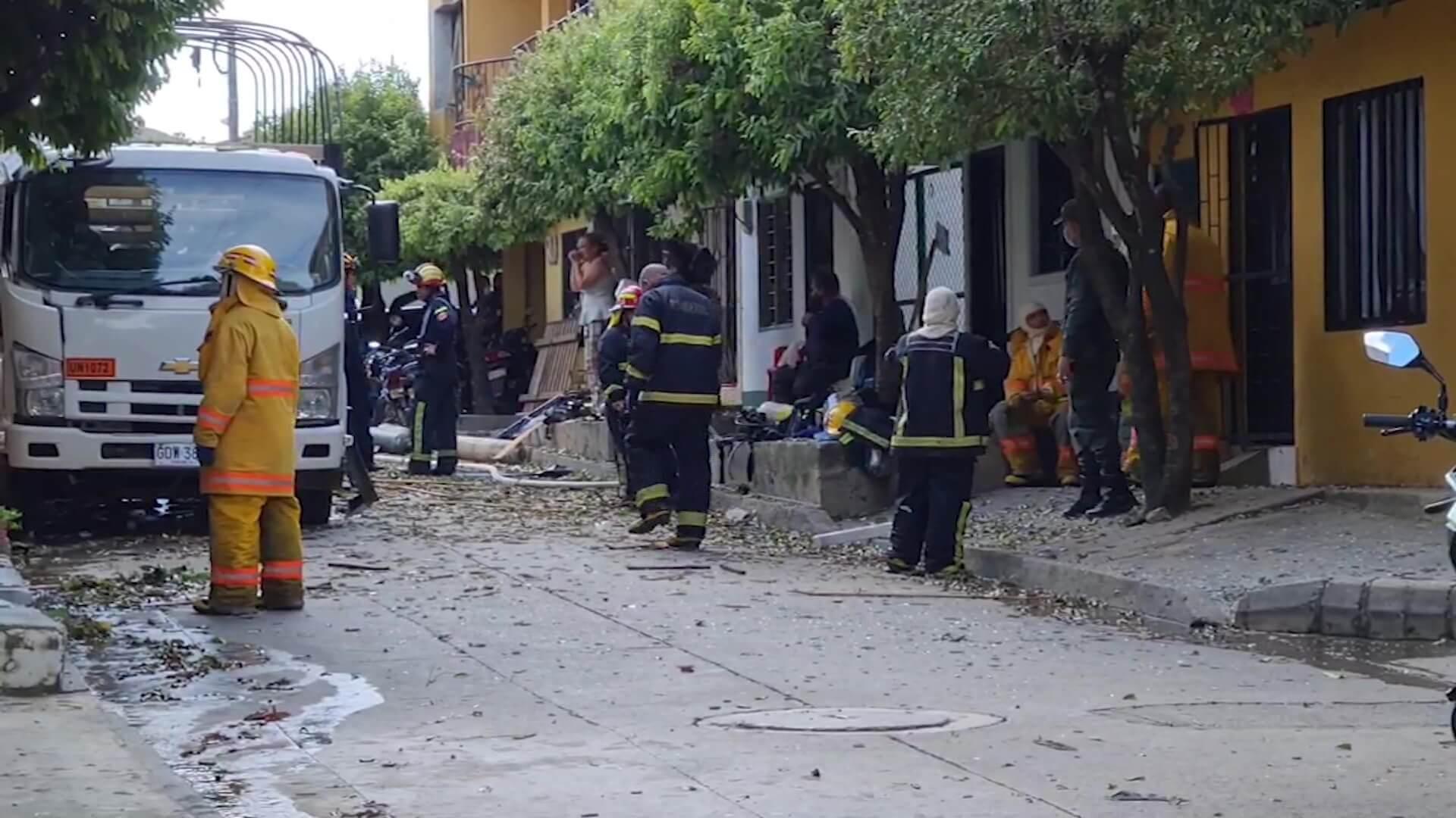 Ocho heridos por explosión en una agencia de gas y oxígeno en Caucasia