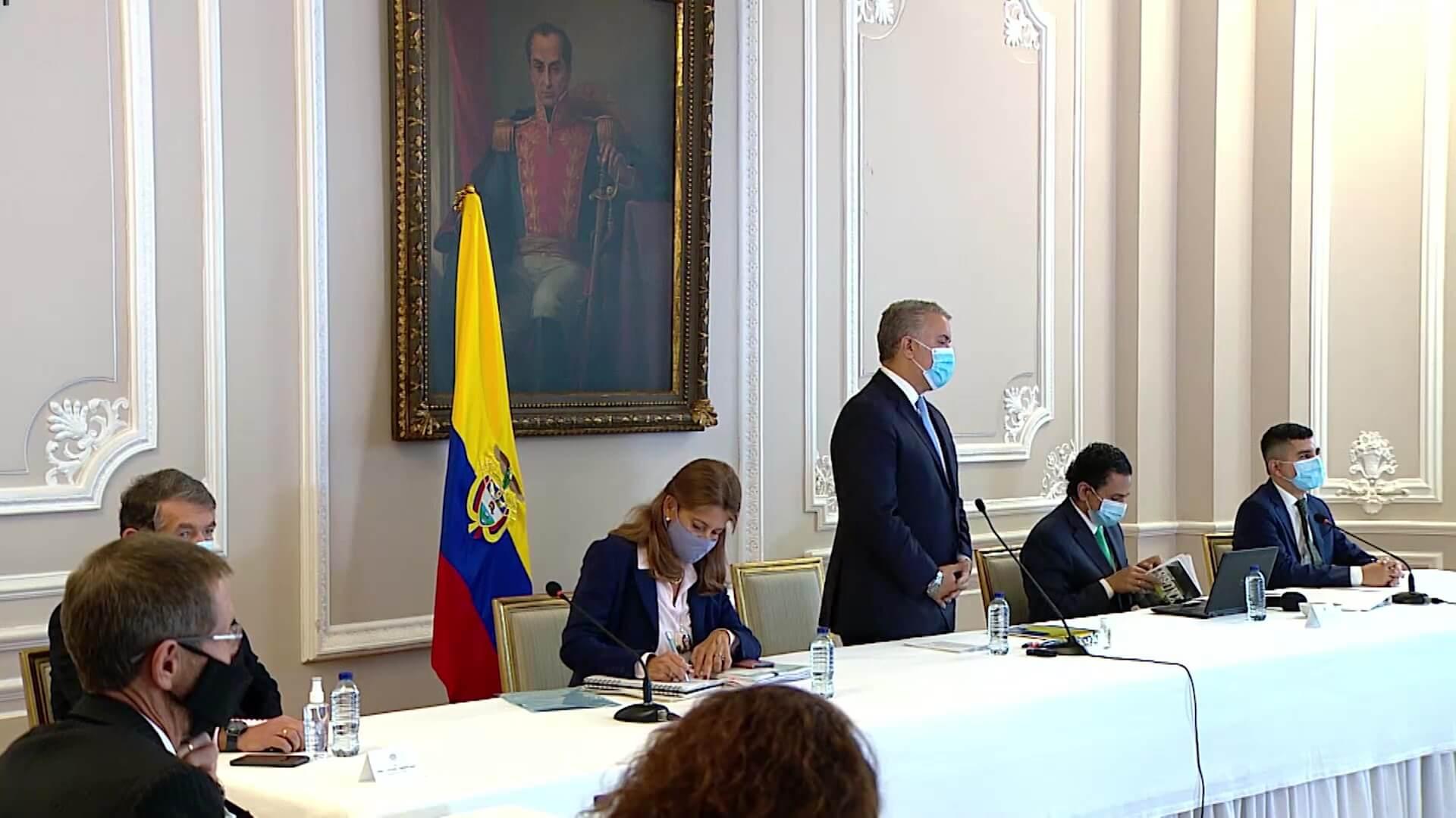 Presidente Duque y Comité de Paro no llegaron a un acuerdo