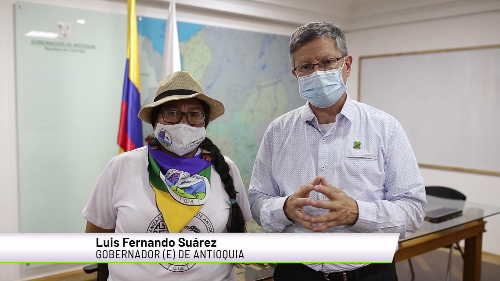 Primeros acuerdos entre Gobernación e indígenas