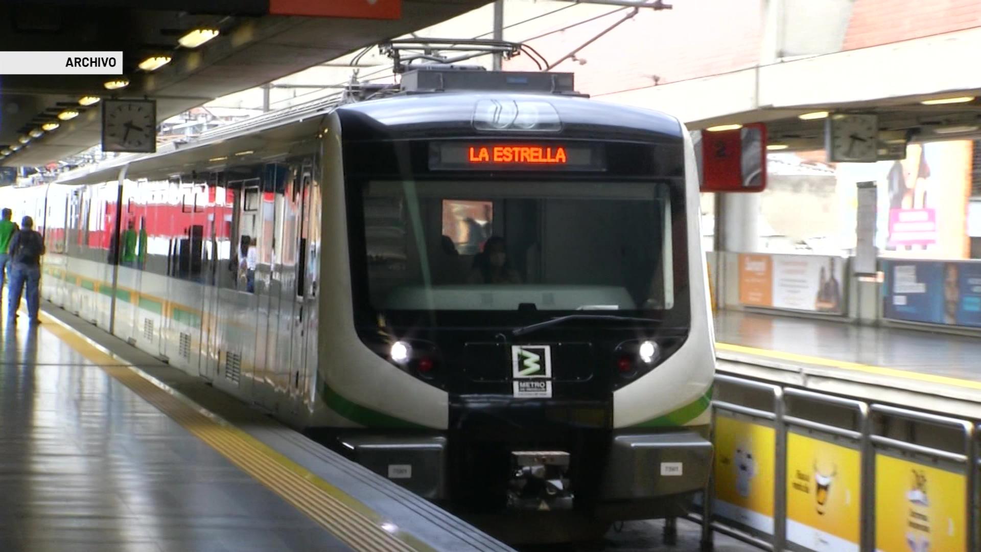 Servicio del Metro con restricciones