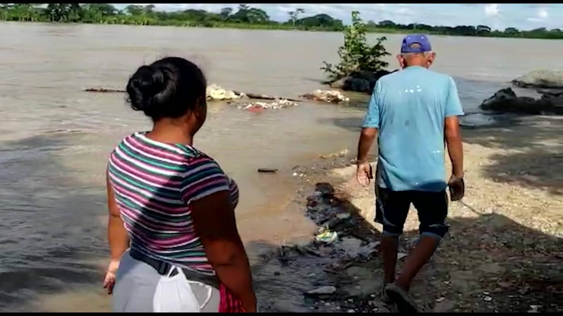 Temor por aumento del caudal del río Cauca