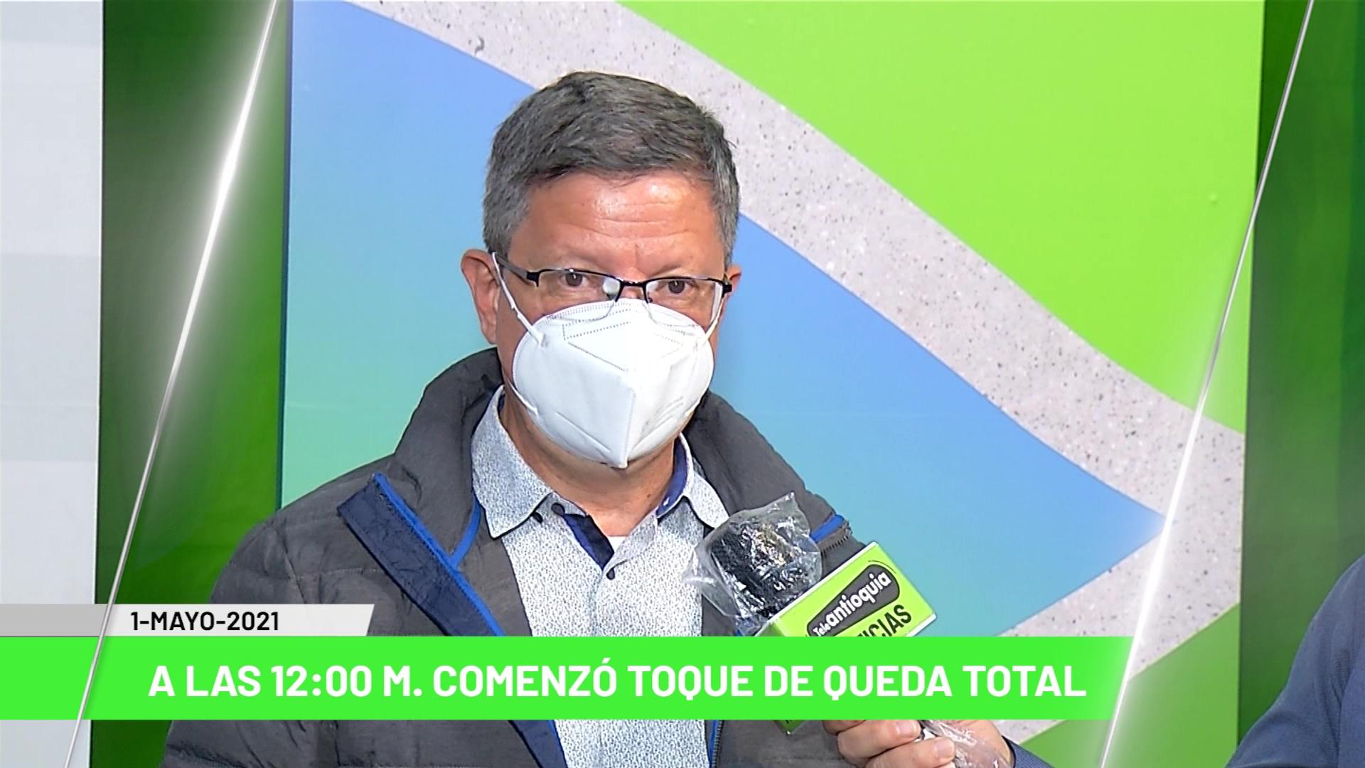 Titulares de Teleantioquia Noticias – sábado primero de mayo de 2021 mediodía