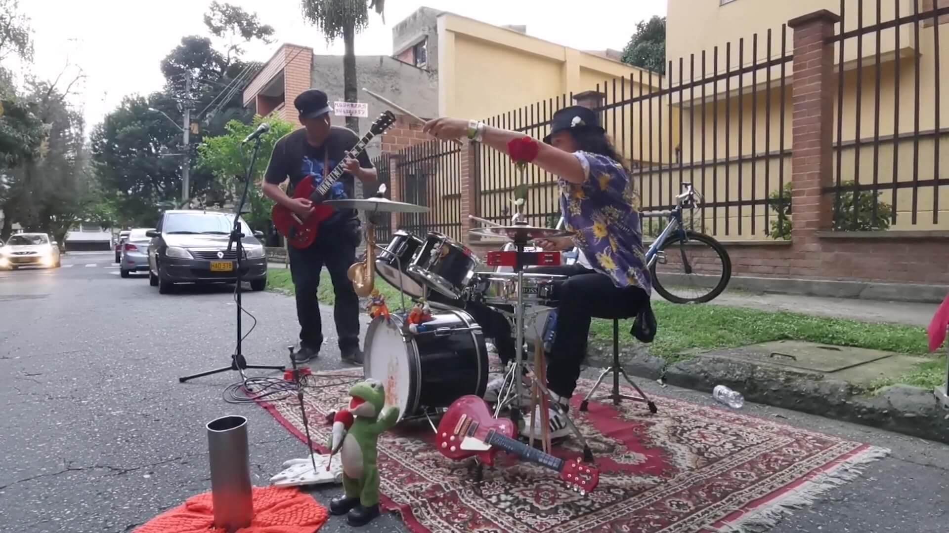 Rock en las calles de Medellín