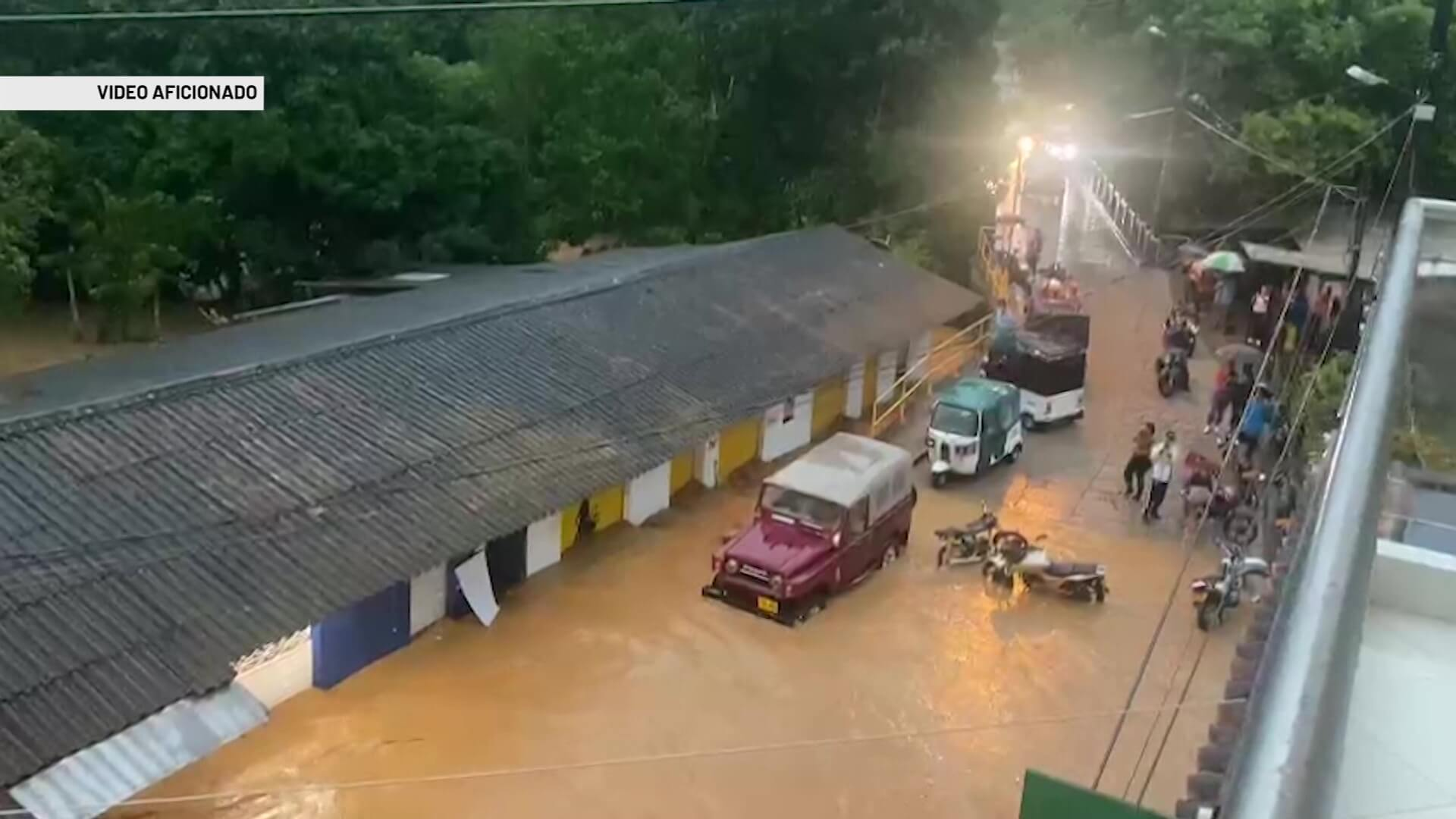 13 municipios con problemas por exceso de lluvia