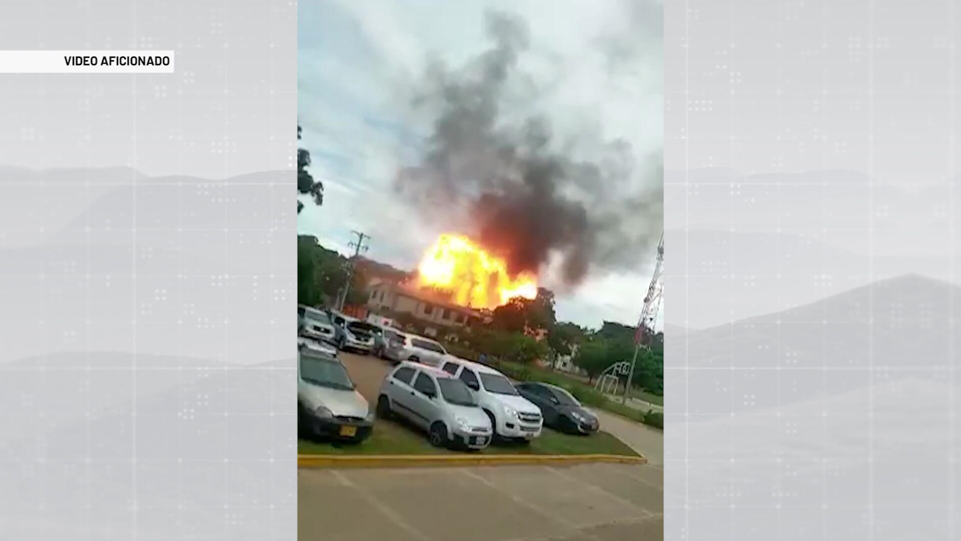 Activado carrobomba contra Brigada 30 de Cúcuta