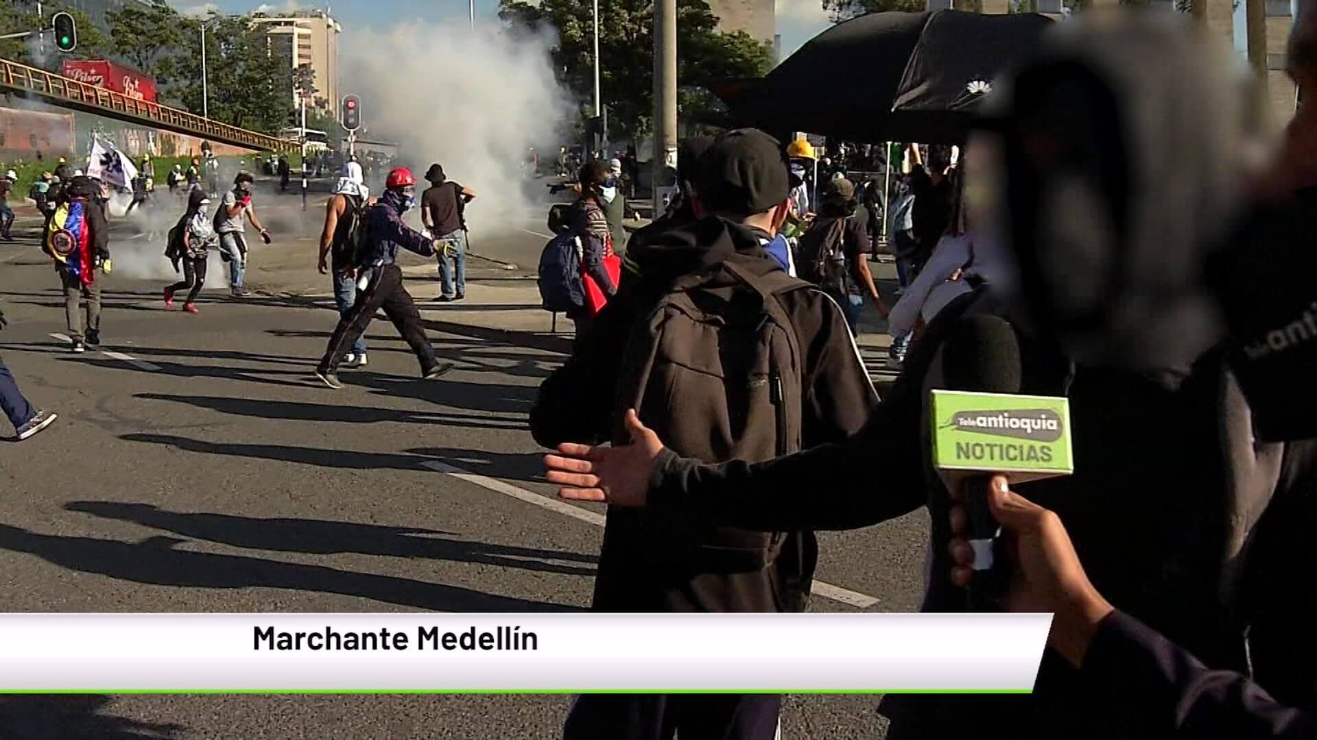 «Comité del Paro no nos representa»: marchantes