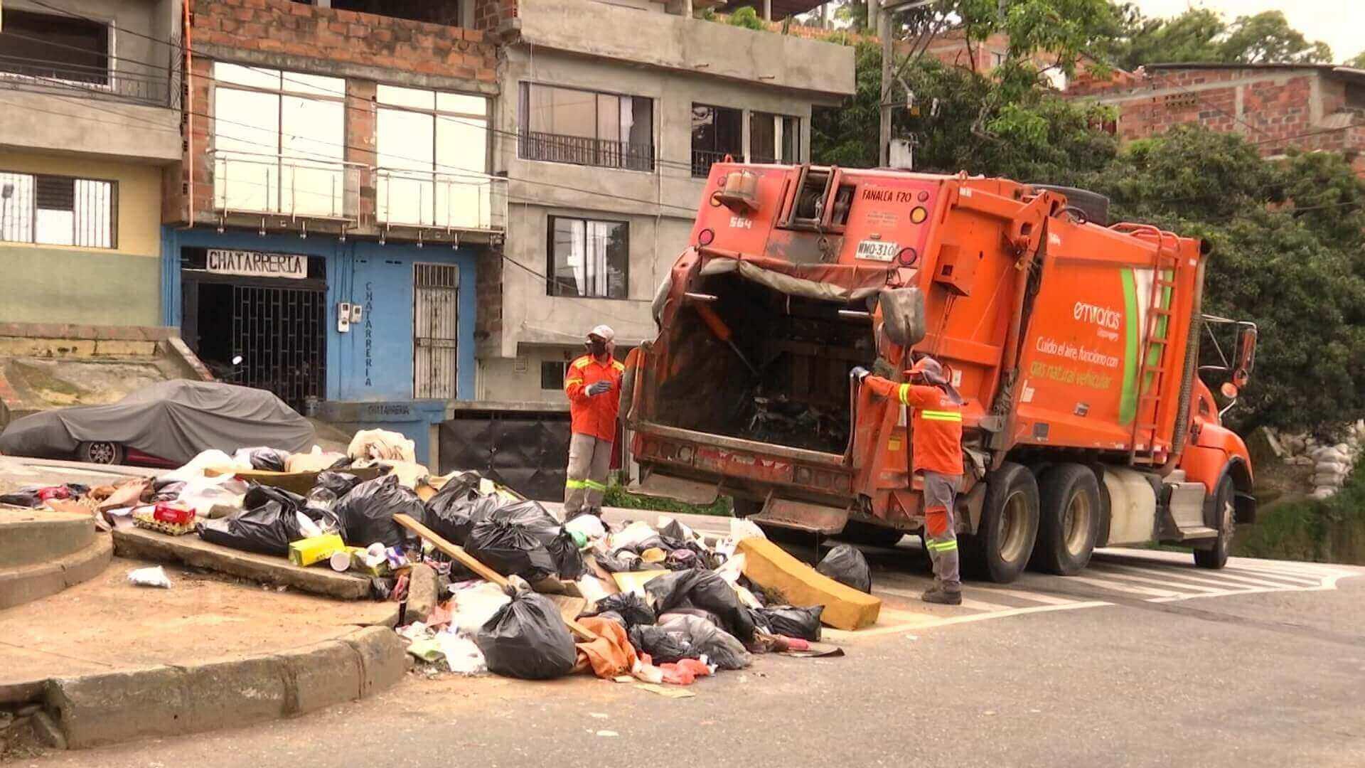 Con la reactivación económica llegó aumento de basura