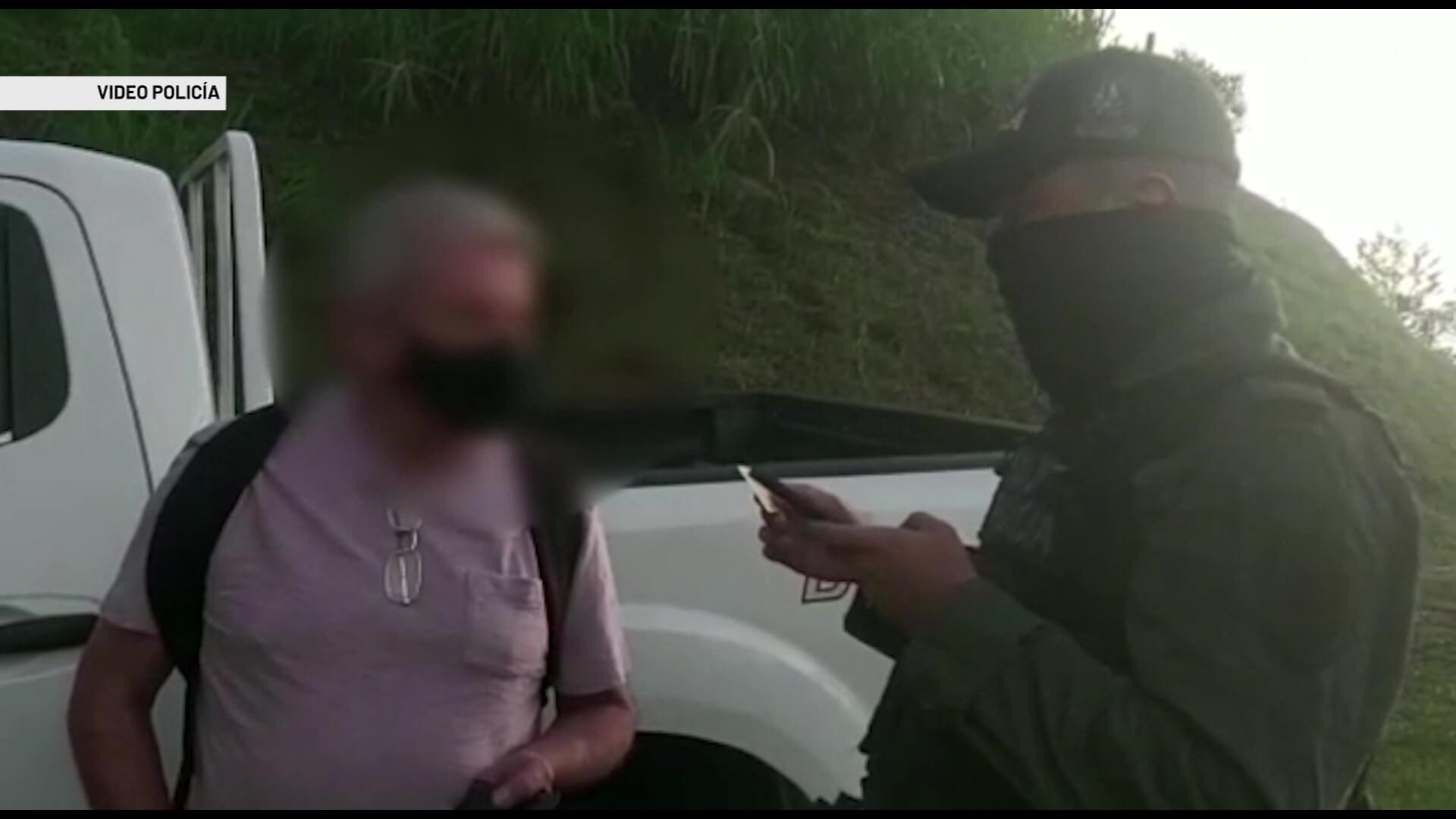 Desmantelada banda responsable de secuestrar a comerciante