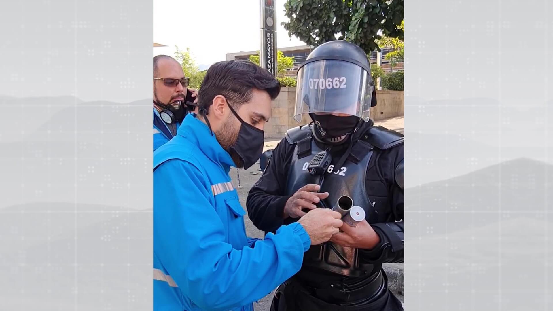 Personería denuncia abusos policiales contra su personal