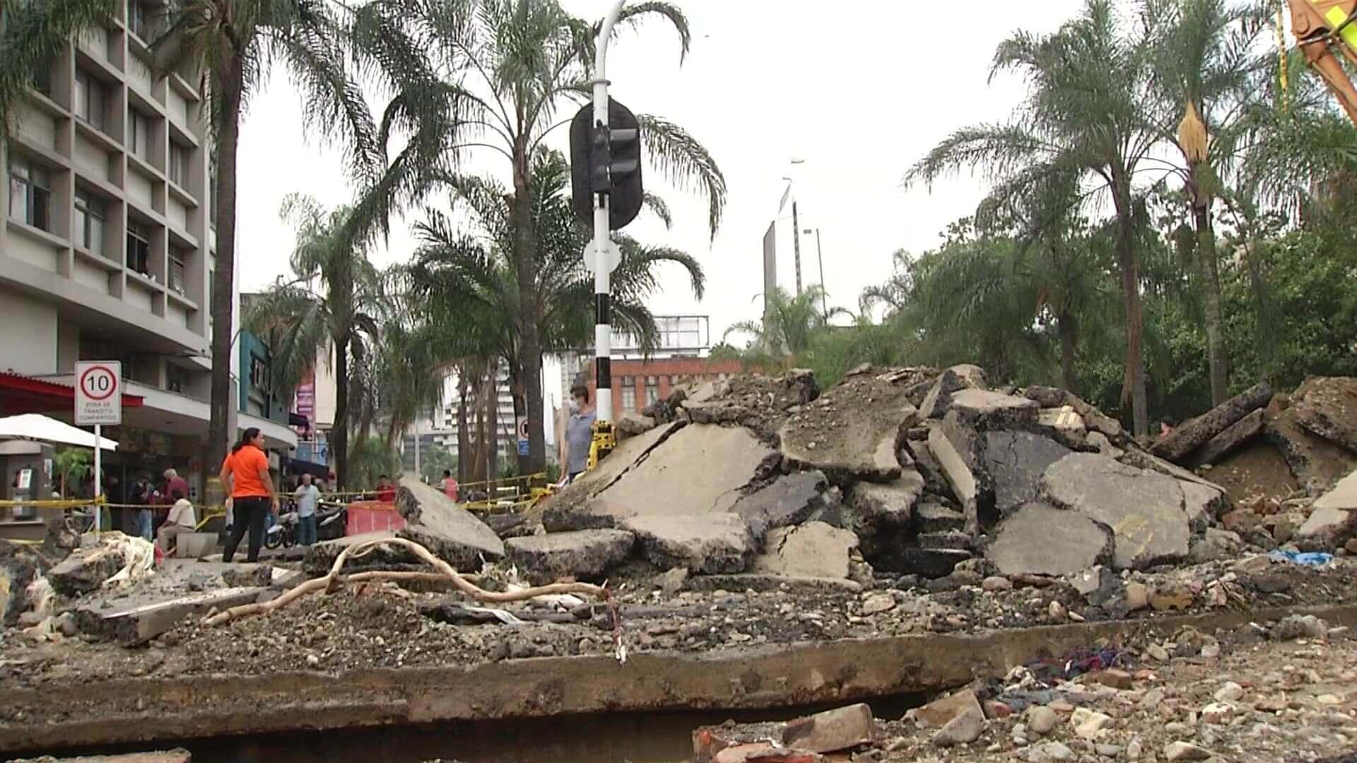 Plan de recuperación por emergencia en quebrada Santa Elena