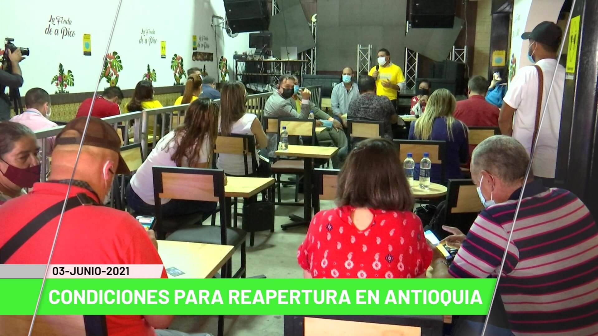 Titulares de Teleantioquia Noticias - jueves 3 de junio de 2021
