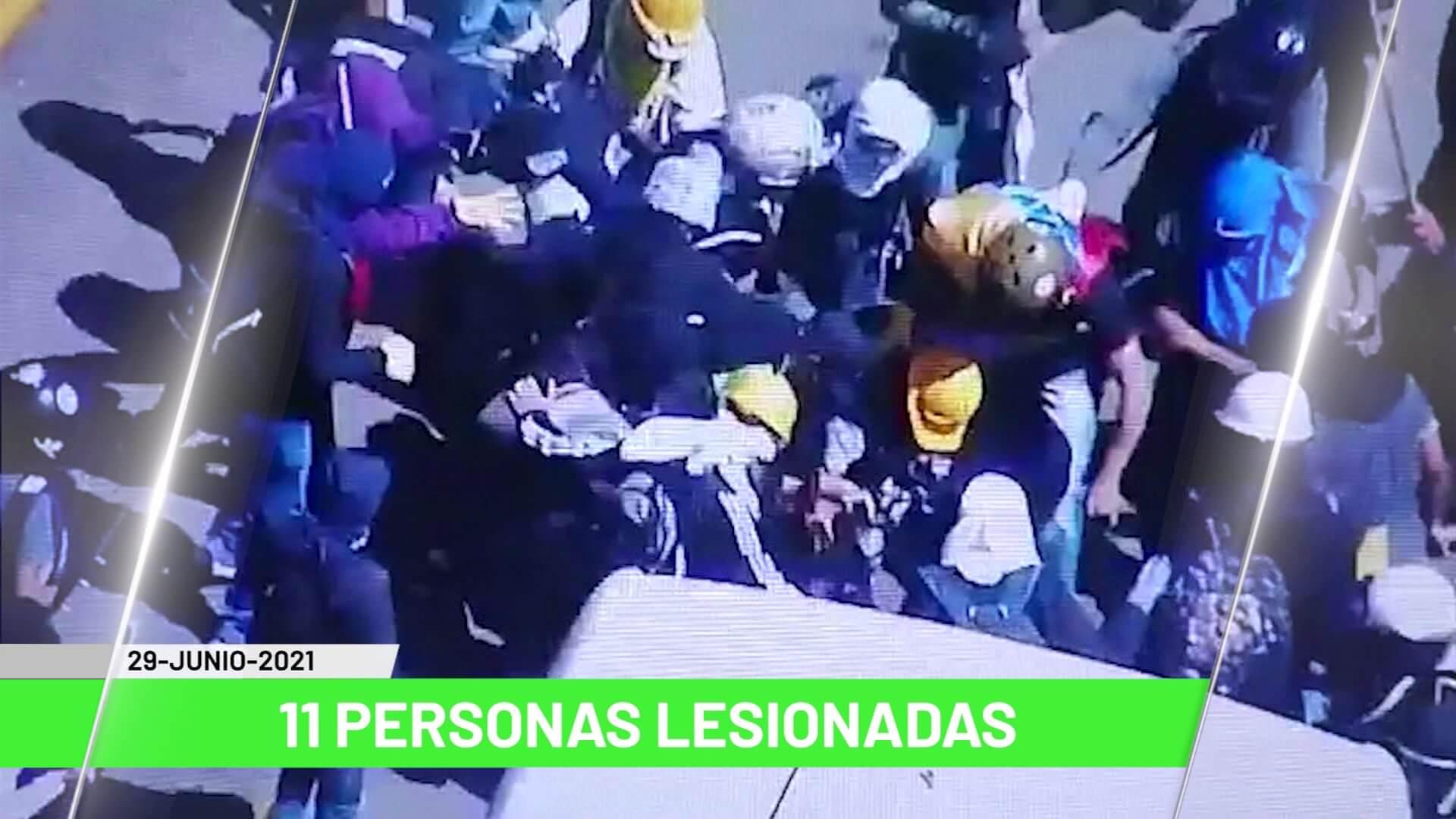Titulares de Teleantioquia Noticias – martes 29 de junio de 2021