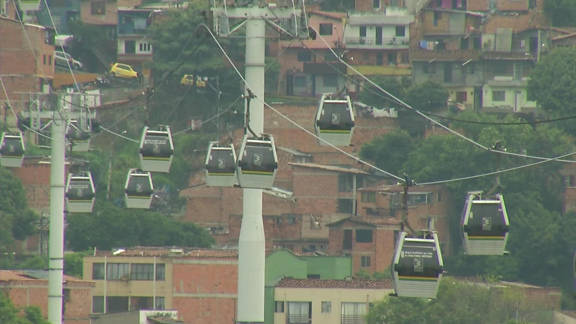 Metrocable suspende servicio por mantenimiento