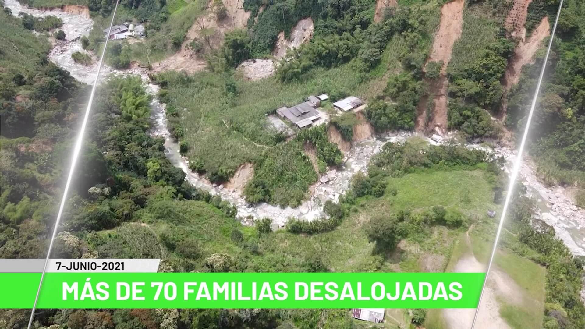 Titulares de Teleantioquia Noticias – Lunes 07 de junio de 2021 mediodía