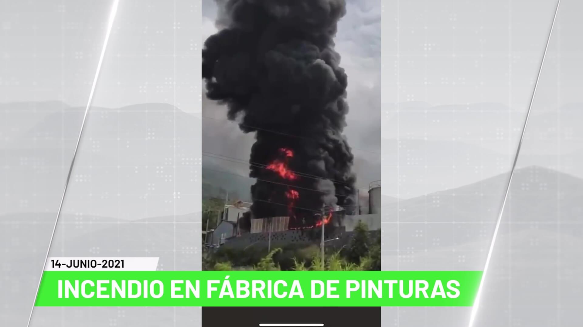 Titulares de Teleantioquia Noticias – Lunes 14 de junio de 2021 mediodía